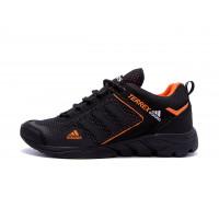 Мужские летние кроссовки сетка Adidas Terrex black