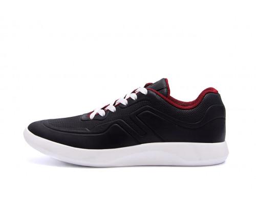 Мужские кожаные кроссовки YAVGOR Black yv 11