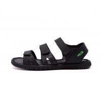 Мужские кожаные сандалии Nike ACG Black