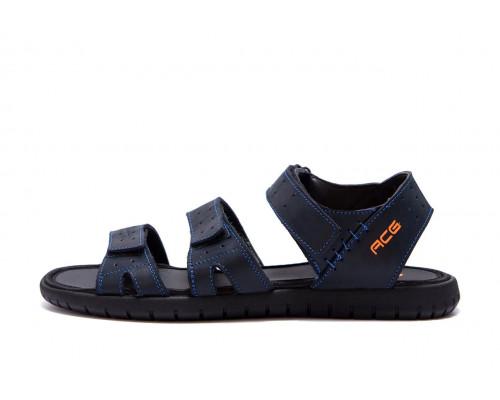 Мужские кожаные сандалии Nike ACG Blue
