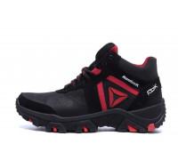 Мужские зимние кожаные ботинки Reebok Crossfit Red