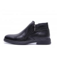 Мужские зимние кожаные ботинки VanKristi