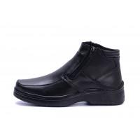Мужские кожаные зимние ботинки Matador clasic два замка
