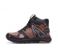 Мужские зимние кожаные ботинки MERRELL SLAB Olive