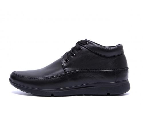 Мужские зимние кожаные ботинки VanKristi VK 927