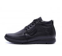 Мужские зимние кожаные ботинки VanKristi VK 940