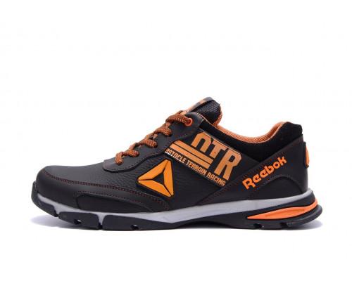 Мужские кожаные кроссовки Reebok Tech Flex Brown