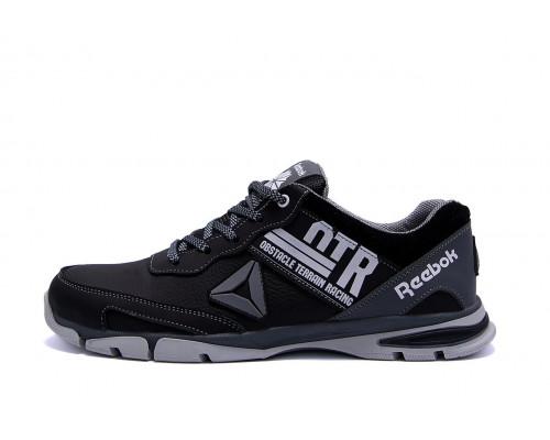 Мужские кожаные кроссовки Reebok Tech Flex Grey 312 grey