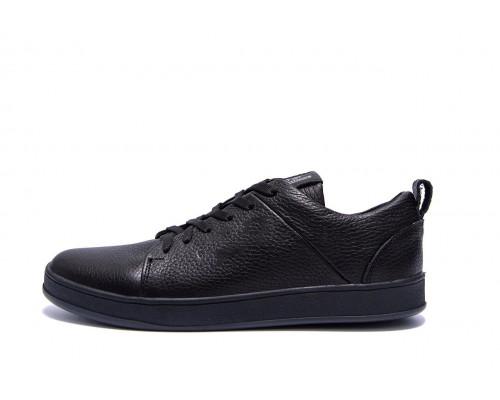 Мужские кожаные кроссовки E Collection Е 302 ч\к