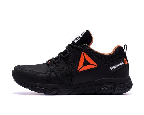 Мужские кожаные кроссовки Reebok Classic Orange