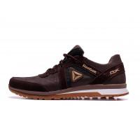 Мужские кожаные кроссовки Reebok Classic Brown R8 кор
