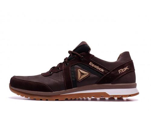 Мужские кожаные кроссовки Reebok SPRINT TR Brown