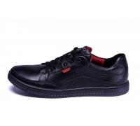 Мужские кожаные кроссовки Ecco Wayfly Black
