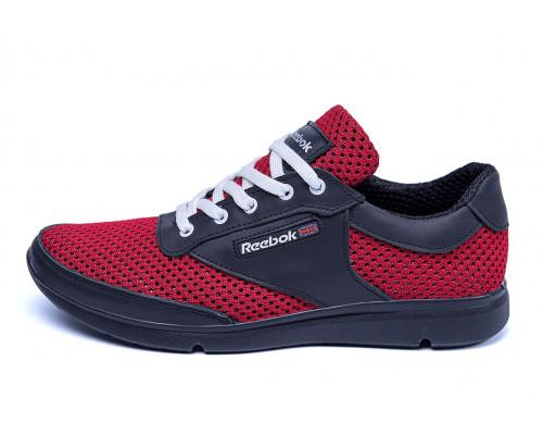 Мужские летние кроссовки сетка Reebok Red Style