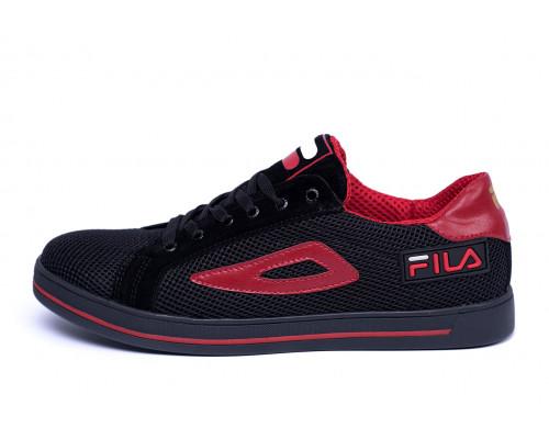 Мужские летние кроссовки сетка FILA