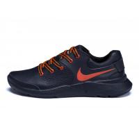 Мужские кожаные кроссовки Nike Air Max Orange