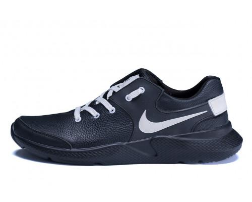 Мужские кожаные кроссовки Nike Air Max White