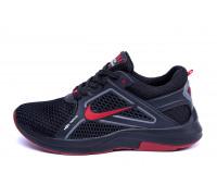 Мужские летние кроссовки сетка Nike Black