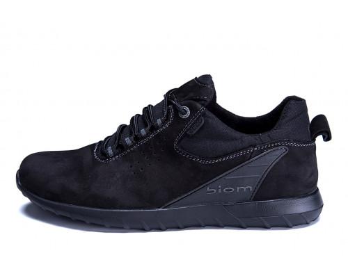 Мужские кожаные кроссовки Ecco biom NS