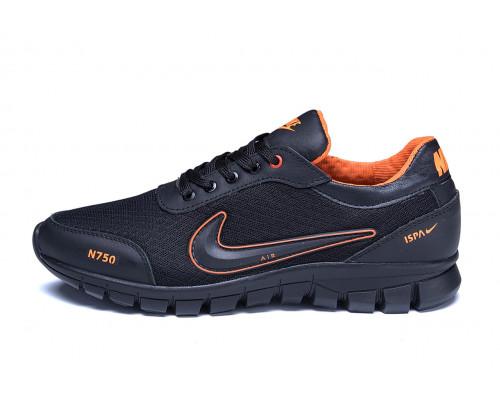 Мужские летние кроссовки сетка Ans orange Nike