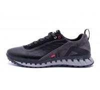 Мужские кожаные кроссовки FILA Tech Flex Black