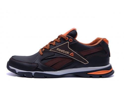 Мужские кожаные кроссовки Reebok 210 brown