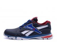 Мужские кожаные кроссовки Reebok Street Style Blue