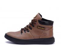 Мужские зимние кожаные ботинки Zaragoza Olive