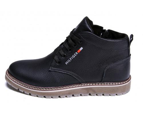 Мужские зимние кожаные ботинки Tommy Hilfiger 565