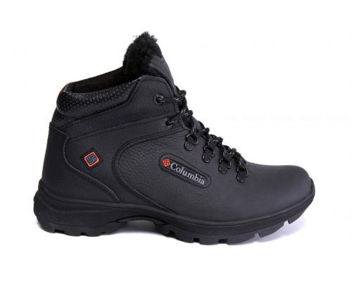 Мужские кожаные зимние ботинки Columbia Trac Control