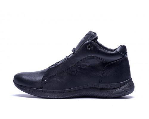 Мужские зимние кожаные ботинки Ессо New Kinhin
