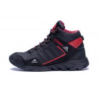 Мужские зимние кожаные ботинки Adidas TERREX Black