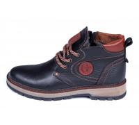 Мужские  зимние кожаные ботинки Asl GS Flotar style