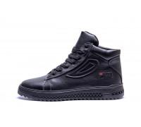 Мужские зимние кожаные ботинки FILA