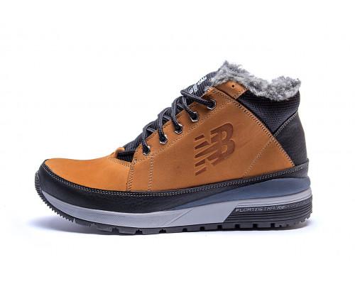 Мужские зимние кожаные ботинки New Balance Fox