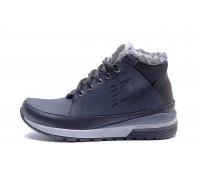 Мужские зимние кожаные ботинки New Balance Blue