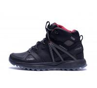 Мужские зимние кожаные ботинки Merrell Hyperlock Black