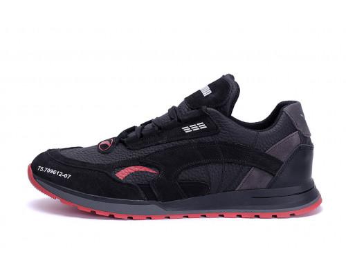 Мужские кожаные кроссовки Puma Red Star