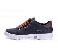 Мужские кожаные кроссовки Polo Blue Trend