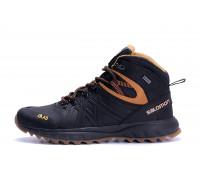 Мужские зимние кожаные ботинки Salomon S-series