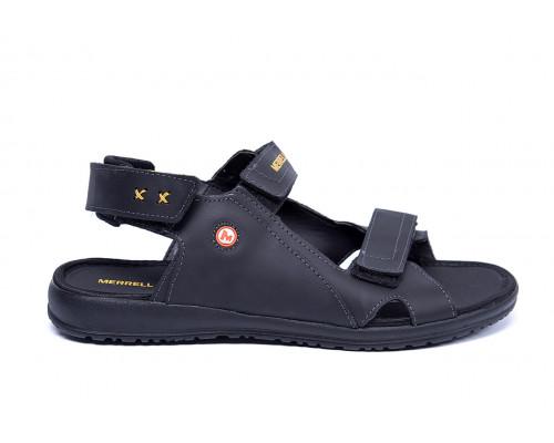 Мужские кожаные сандалии Merrell Black